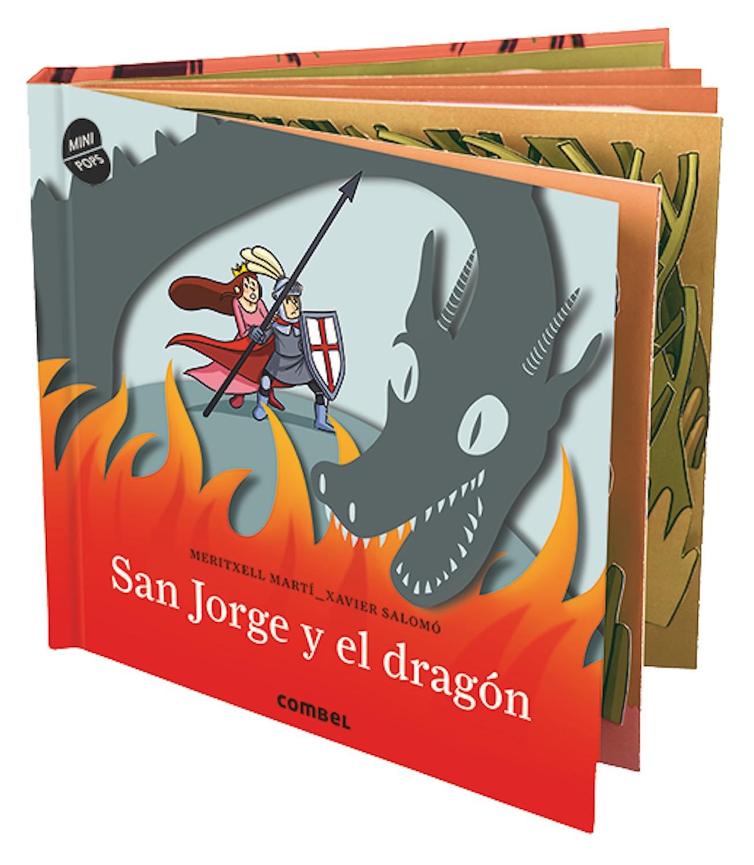 Resultado de imagen de san jorge y el dragon pop up combel